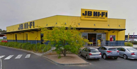 JB HiFi Geelong by Gordon corp
